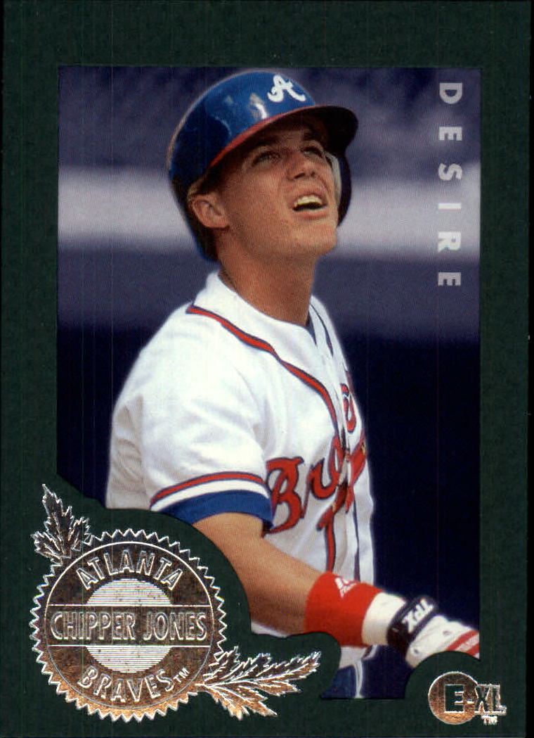 1996 Emotion-XL #142 Chipper Jones