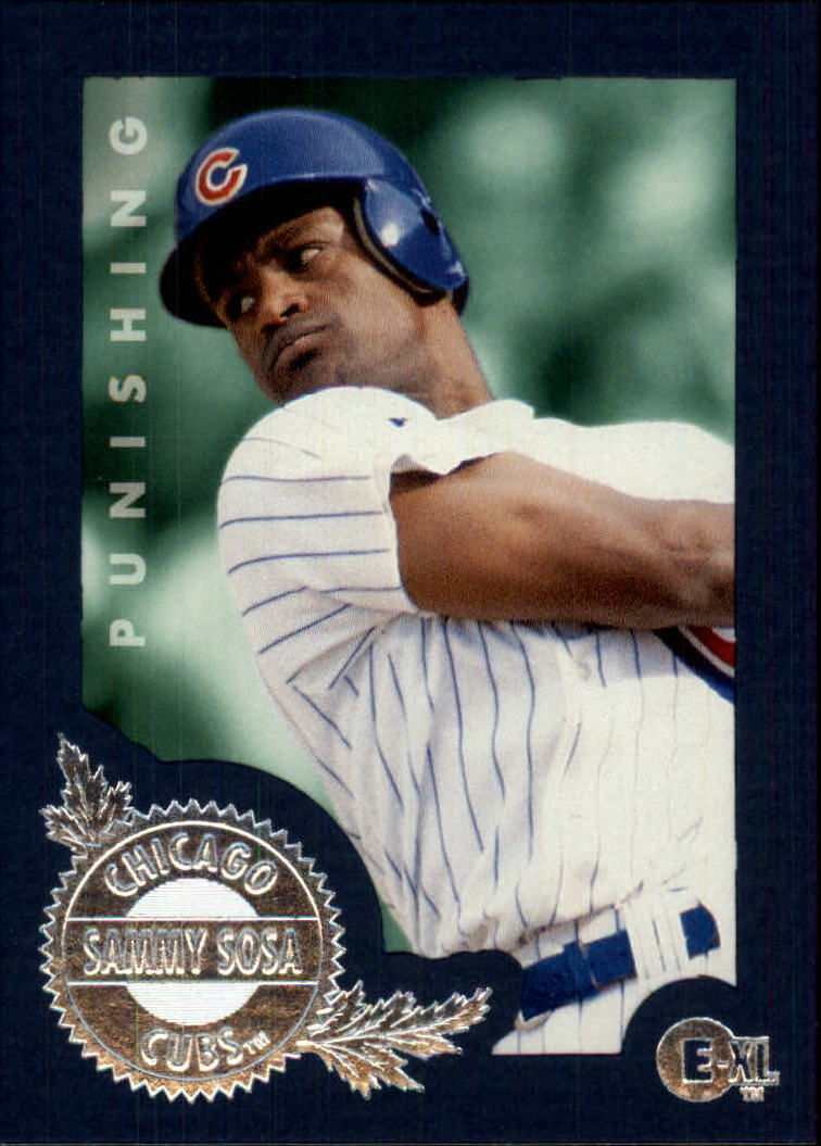 1996 Emotion-XL #160 Sammy Sosa