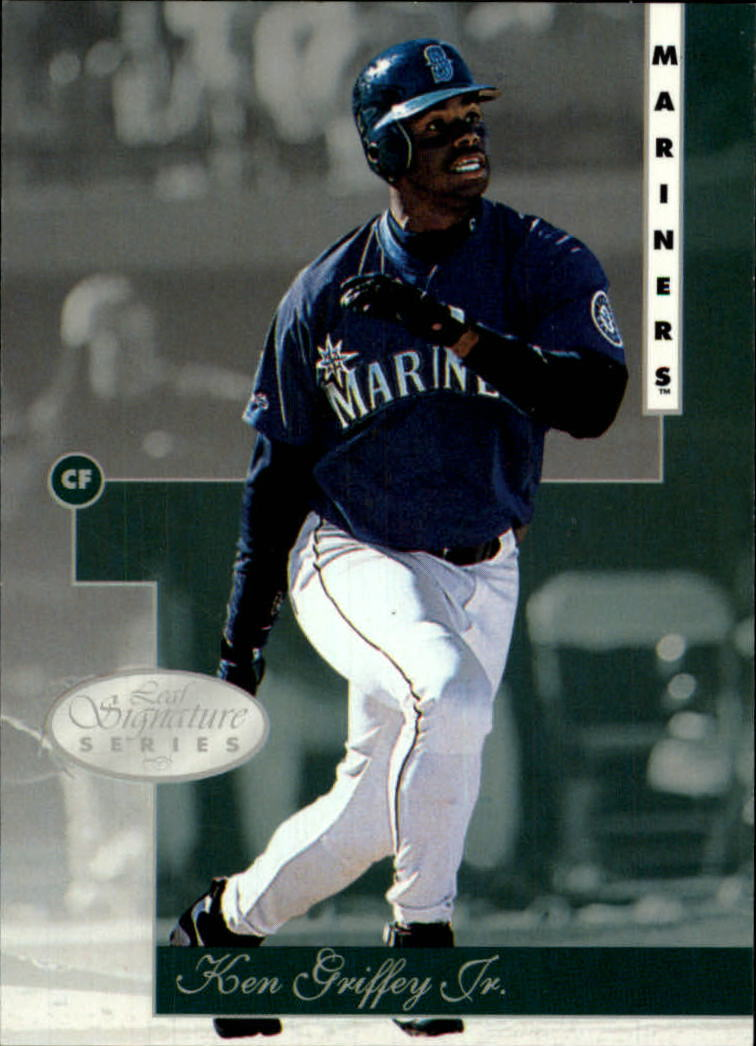 1996 Leaf Signature #10 Ken Griffey Jr.