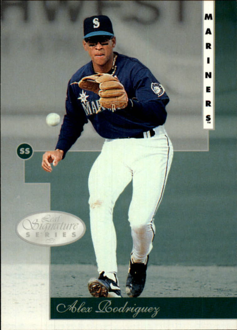 1996 Leaf Signature #16 Alex Rodriguez