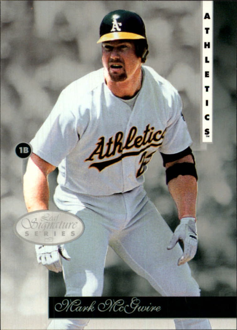 1996 Leaf Signature #23 Mark McGwire