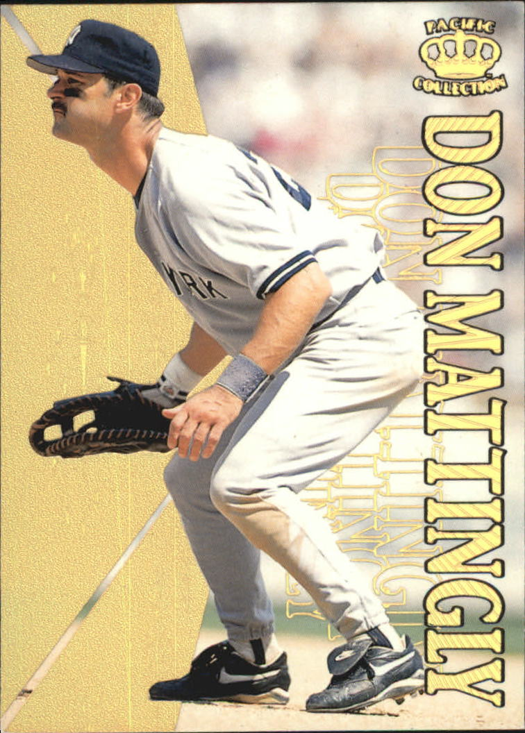 1996 Pacific Hometowns #HP5 Don Mattingly