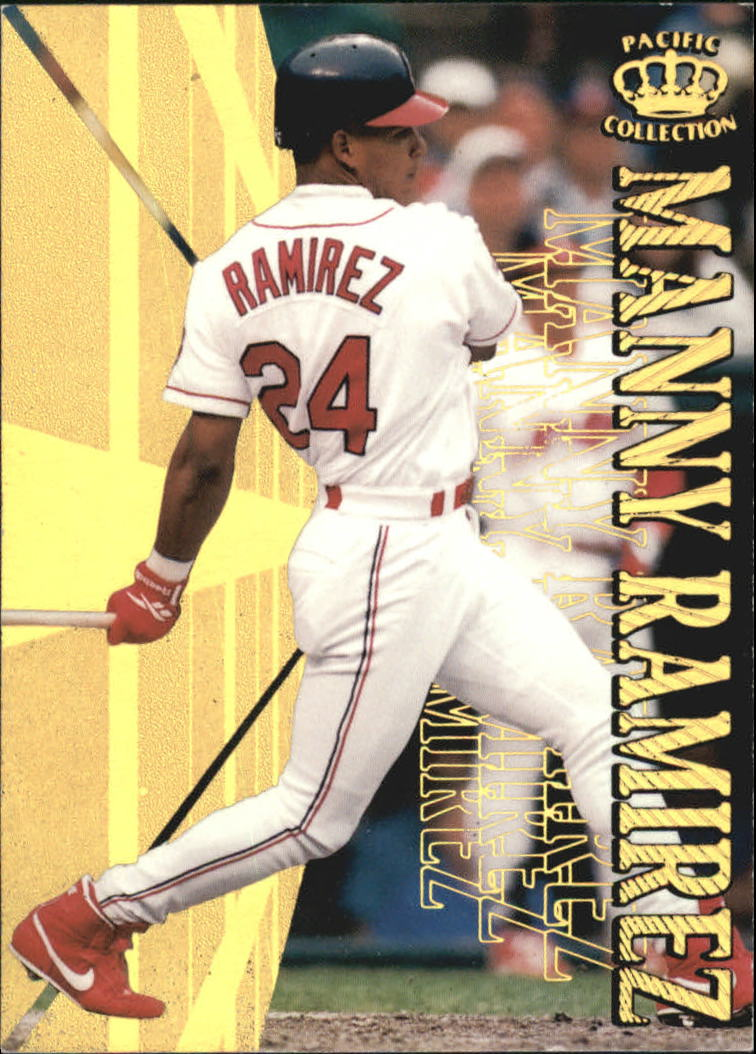 1996 Pacific Hometowns #HP9 Manny Ramirez