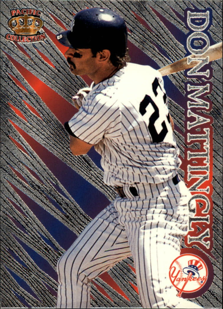 1996 Pacific Prisms #P119 Don Mattingly