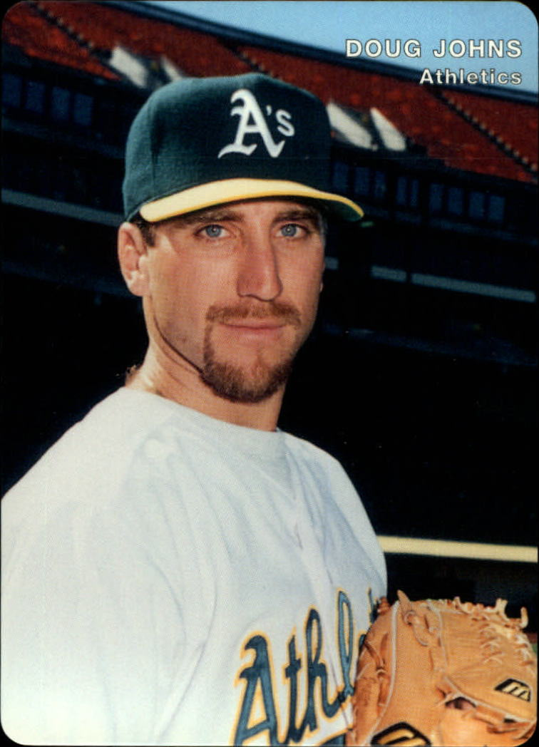 1996 A's Mother's #8 Doug Johns