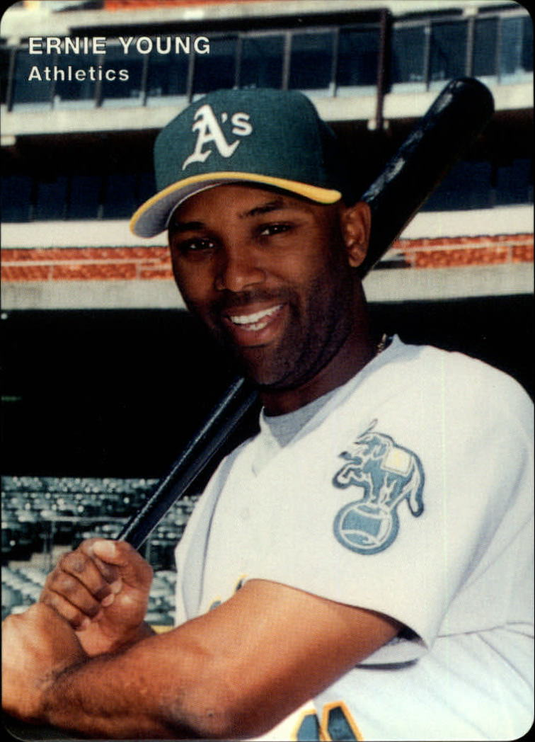 1996 A's Mother's #11 Ernie Young