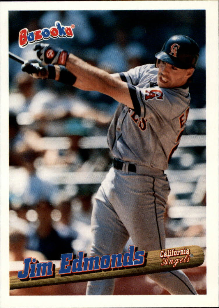 1996 Bazooka #83 Jim Edmonds