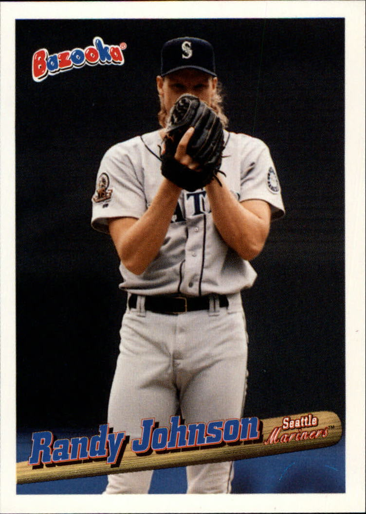 1996 Bazooka #95 Randy Johnson