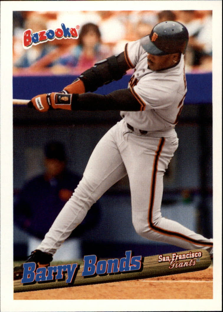 1996 Bazooka #118 Barry Bonds