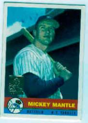 1996 Bazooka #NNO Mickey Mantle/1959 Bazooka