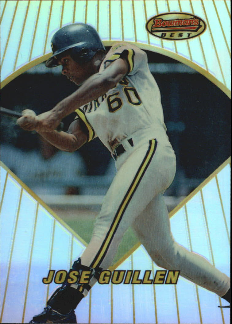 1996 Bowman's Best Refractors #109 Jose Guillen