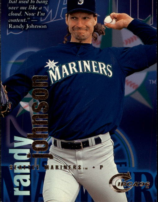 1996 Circa #79 Randy Johnson