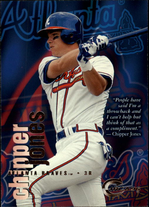 1996 Circa #102 Chipper Jones