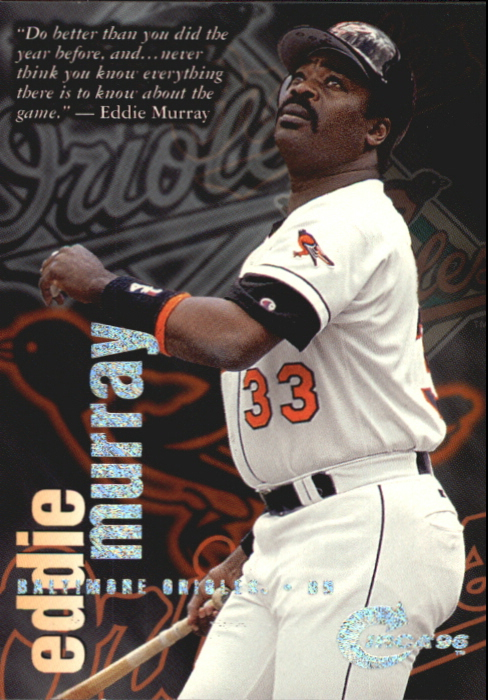 1996 Circa Rave #4 Eddie Murray