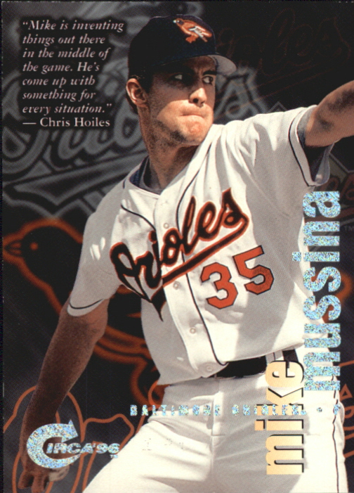 1996 Circa Rave #5 Mike Mussina