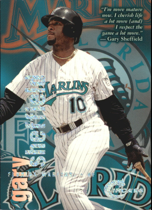1996 Circa Rave #131 Gary Sheffield