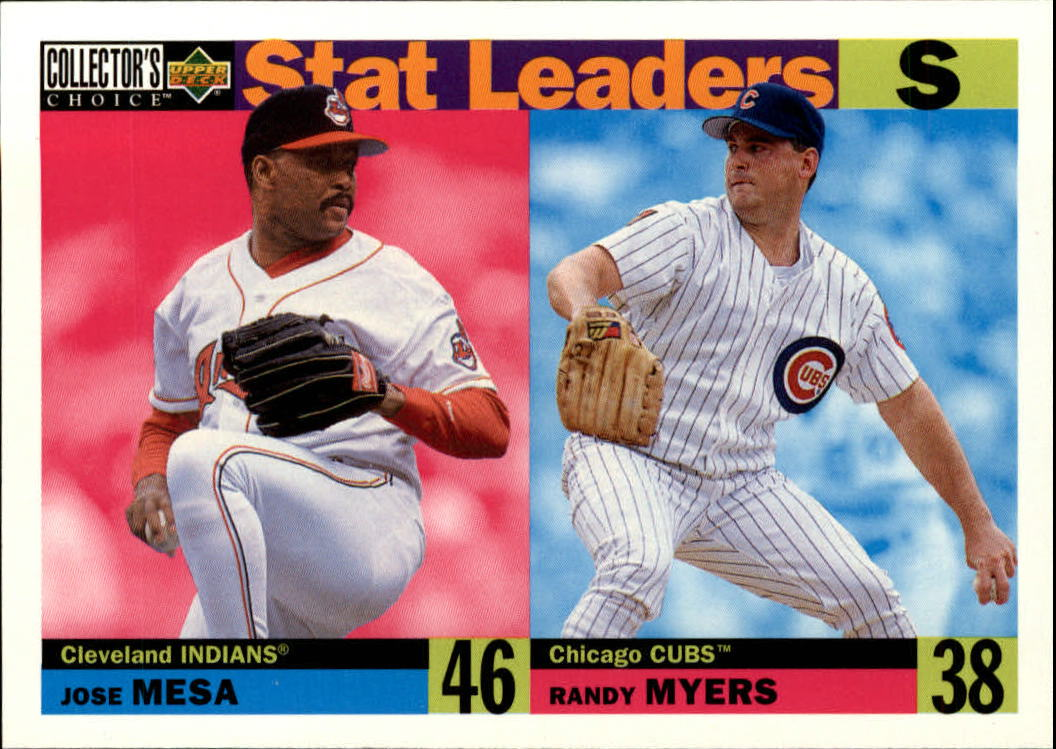 1996 Collector's Choice #9 J.Mesa/R.Myers SL