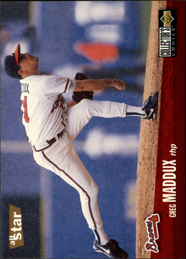 1996 Collector's Choice #40 Greg Maddux