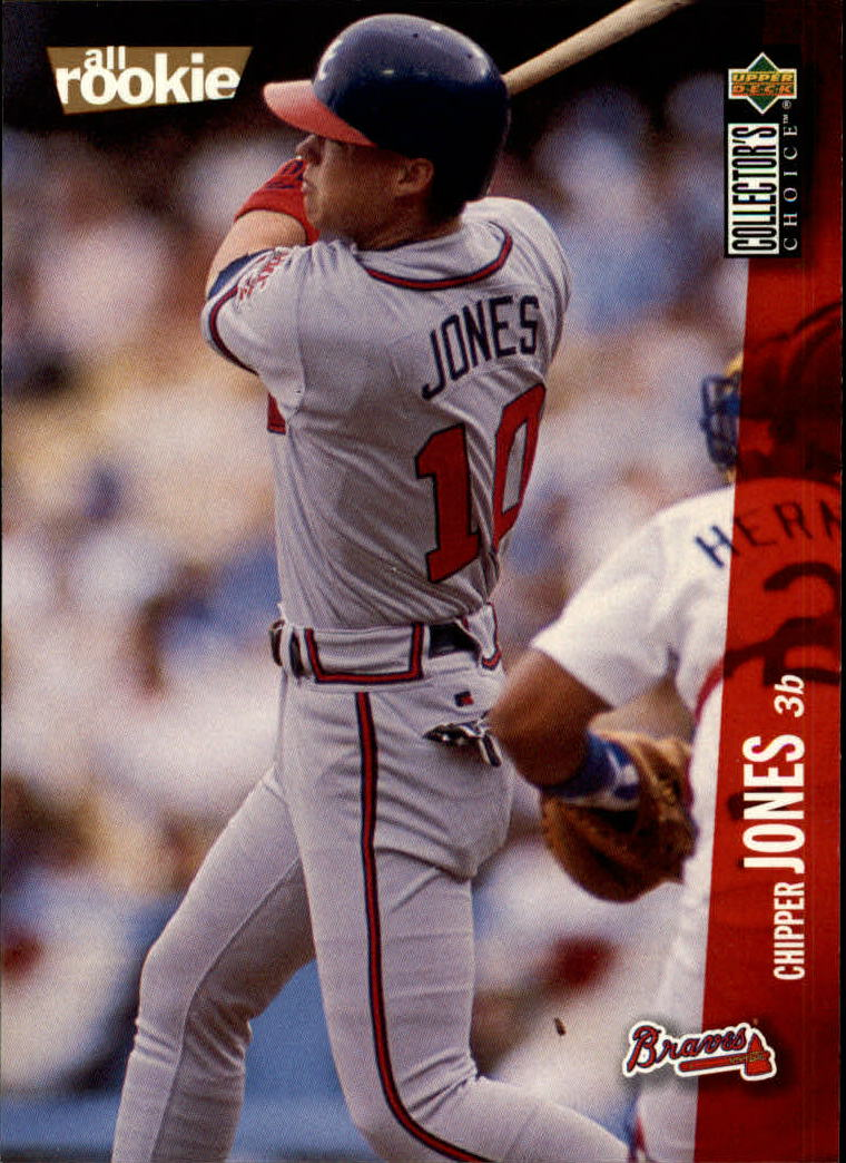 1996 Collector's Choice #42 Chipper Jones