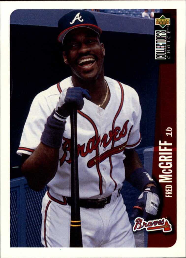 1996 Collector's Choice #45 Fred McGriff
