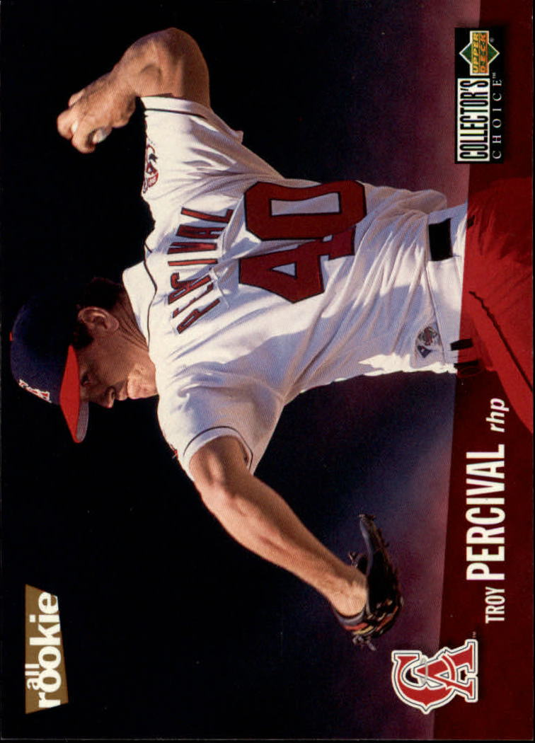 1996 Collector's Choice #72 Troy Percival