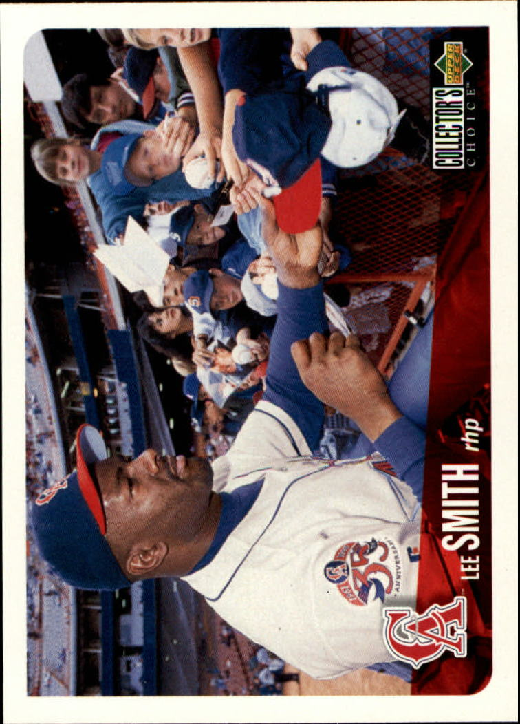 1996 Collector's Choice #77 Lee Smith