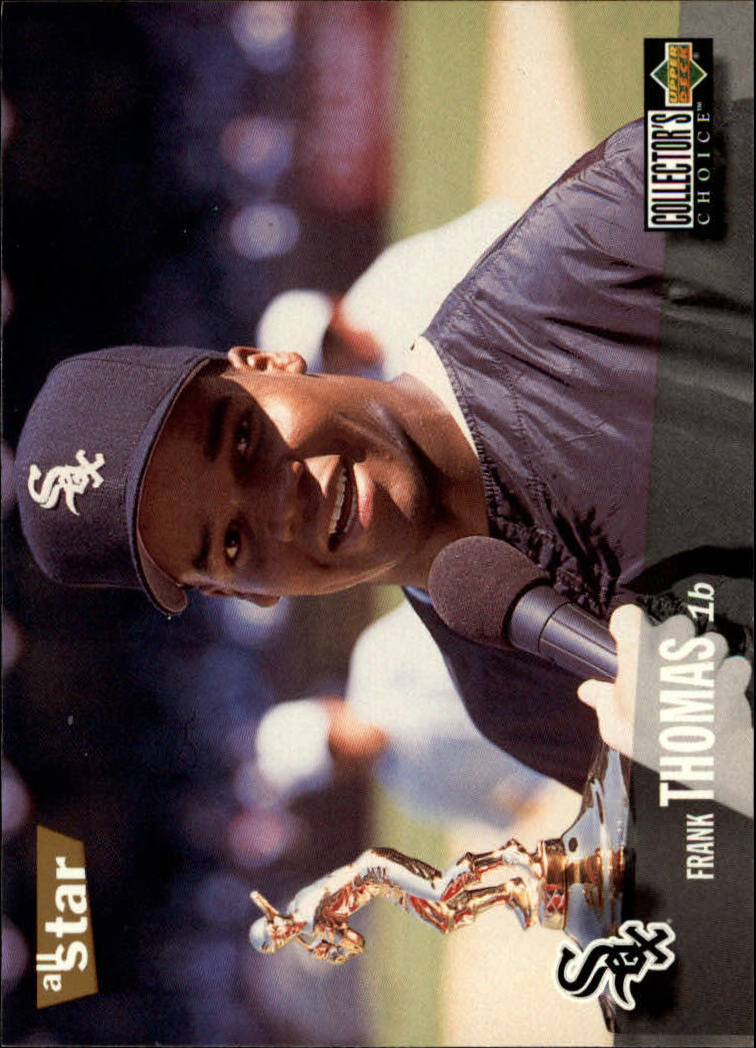 1996 Collector's Choice #90 Frank Thomas