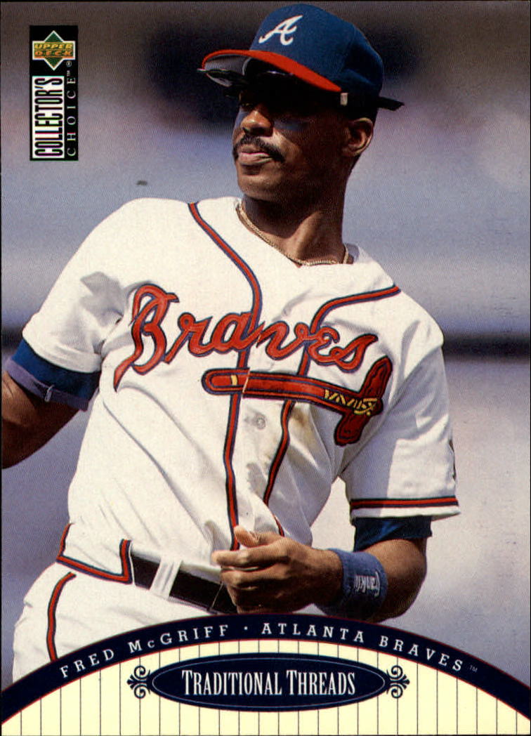 1996 Collector's Choice #107 Fred McGriff TT