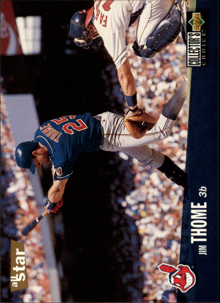 1996 Collector's Choice #120 Jim Thome
