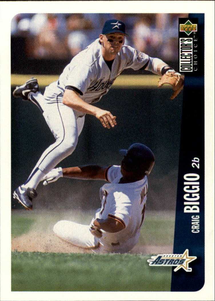 1996 Collector's Choice #159 Craig Biggio