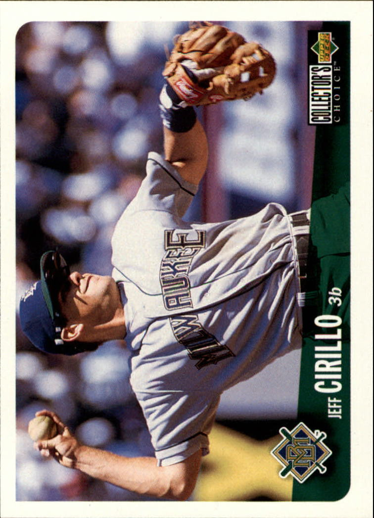 1996 Collector's Choice #188 Jeff Cirillo