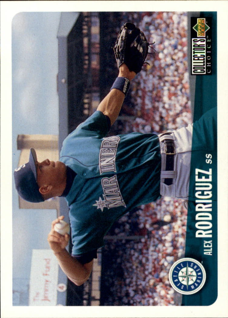 1996 Collector's Choice #316 Alex Rodriguez