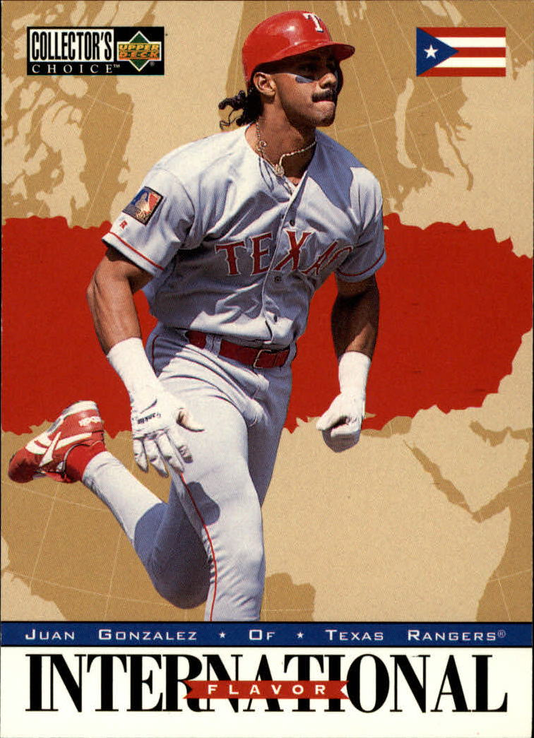 1996 Collector's Choice #338 Juan Gonzalez IF