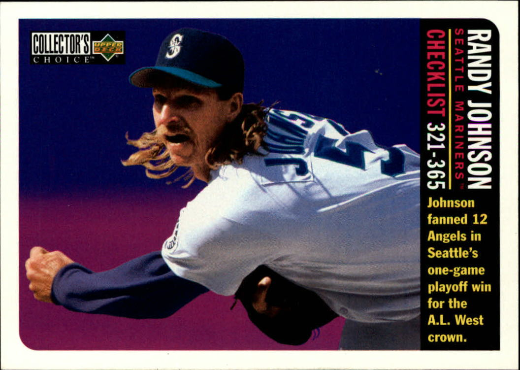 1996 Collector's Choice #365 Randy Johnson CL