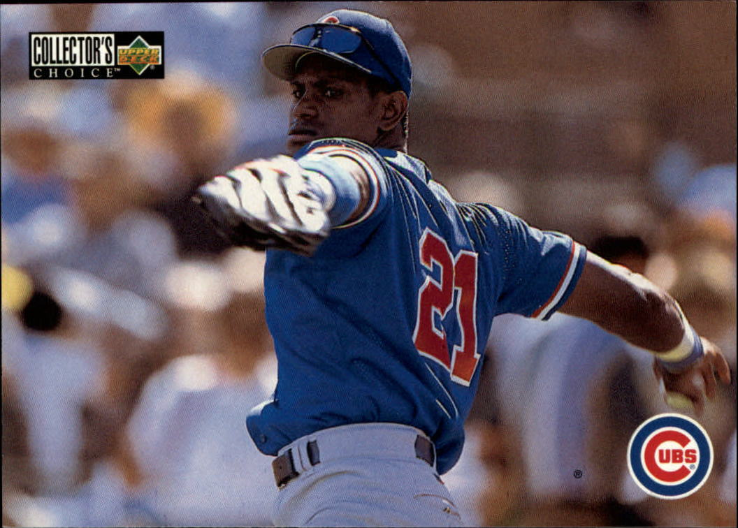 1996 Collector's Choice #403 Sammy Sosa TC