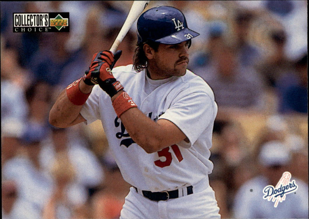 1996 Collector's Choice #406 Mike Piazza TC