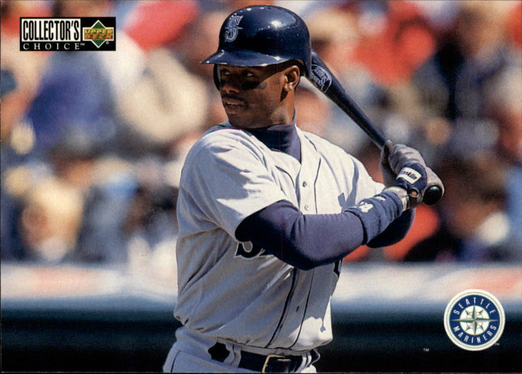 1996 Collector's Choice #415 Ken Griffey Jr. TC