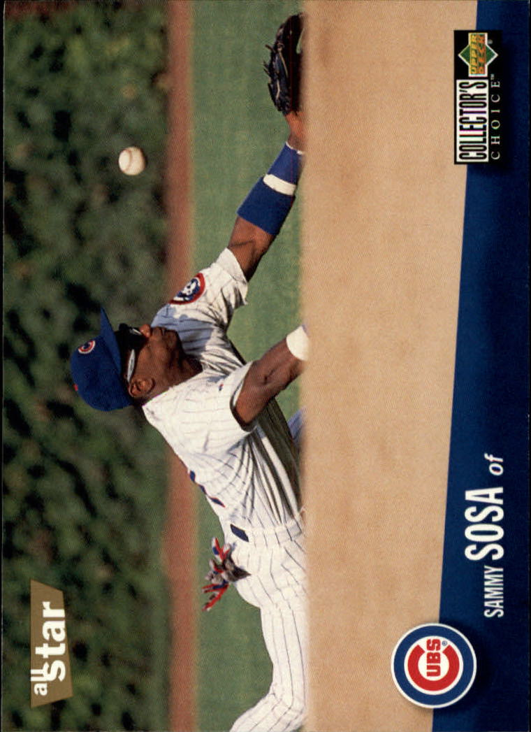 1996 Collector's Choice #490 Sammy Sosa