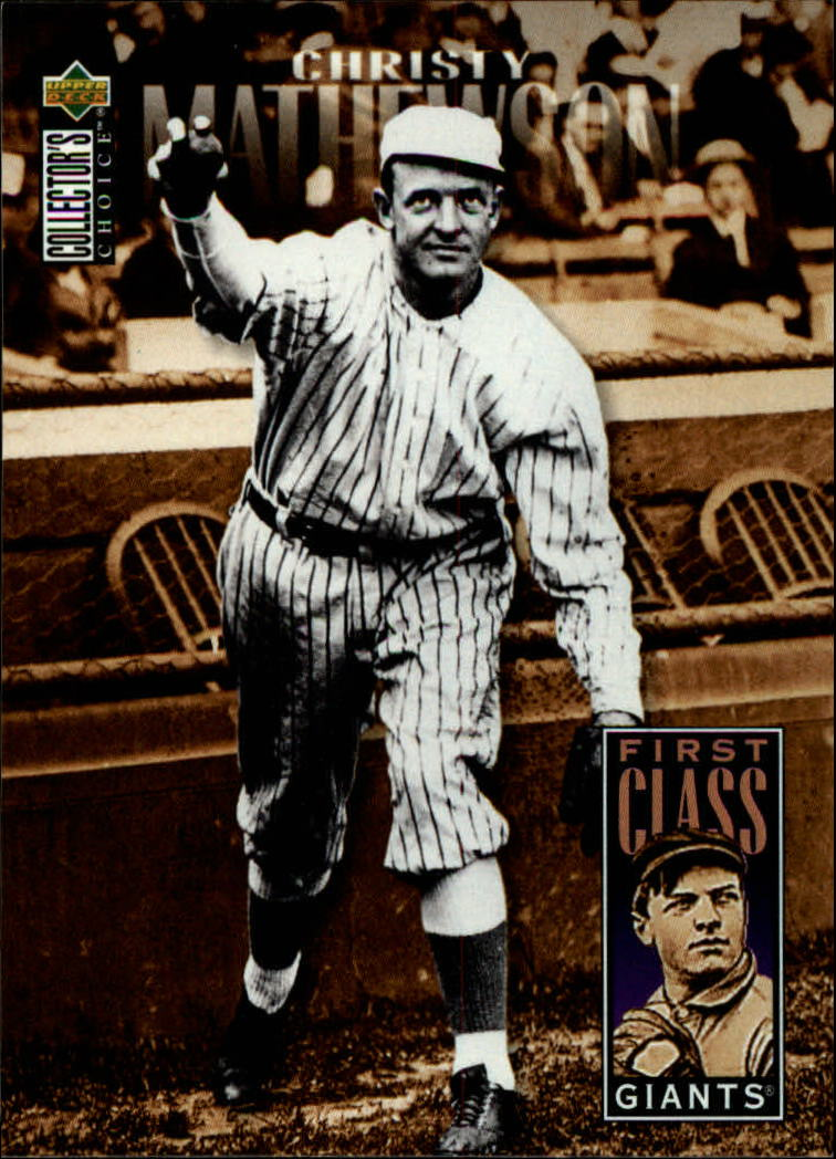 1996 Collector's Choice #503 Christy Mathewson FC