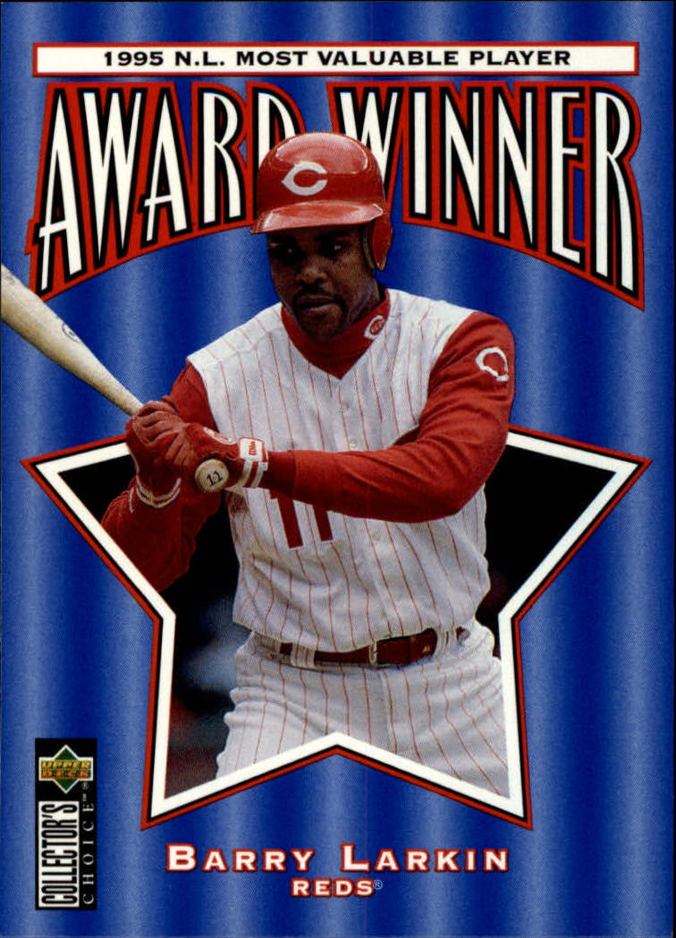 1996 Collector's Choice #707 Barry Larkin MVP