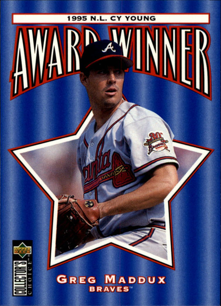 1996 Collector's Choice #709 Greg Maddux CY