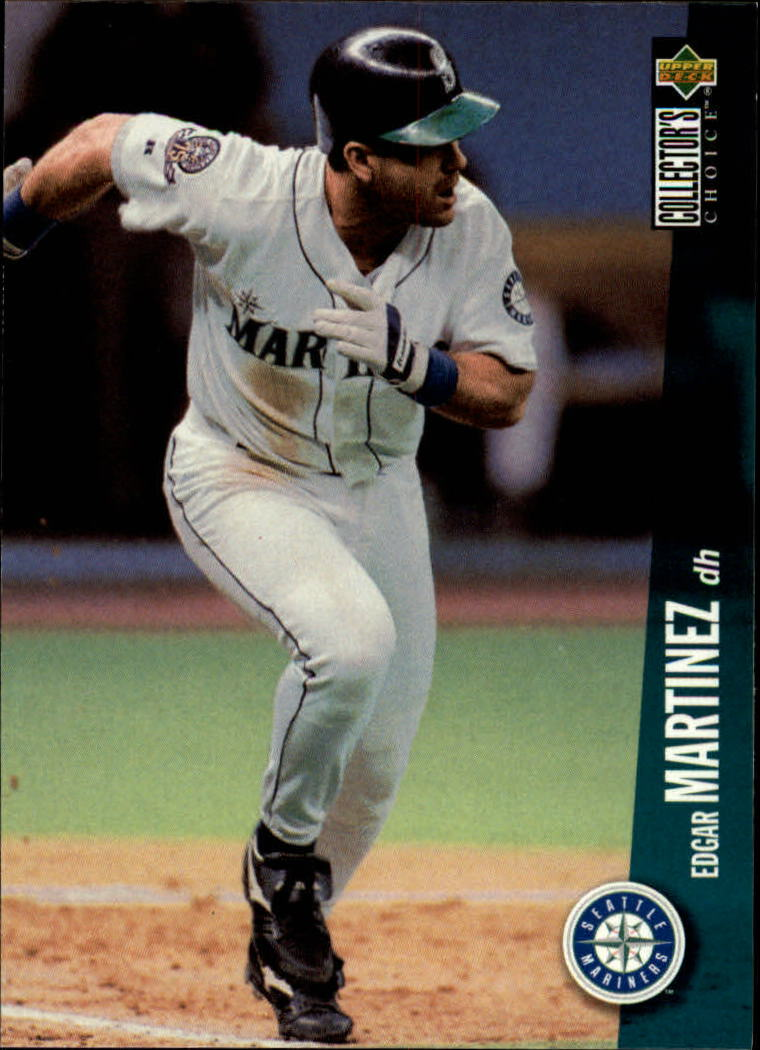 1996 Collector's Choice #725 Edgar Martinez