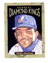 1996 Donruss Diamond Kings #12 Pedro Martinez