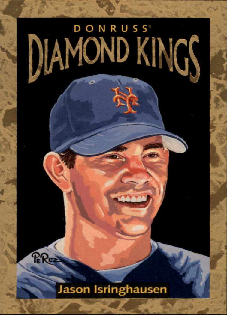 1996 Donruss Diamond Kings #19 Jason Isringhausen