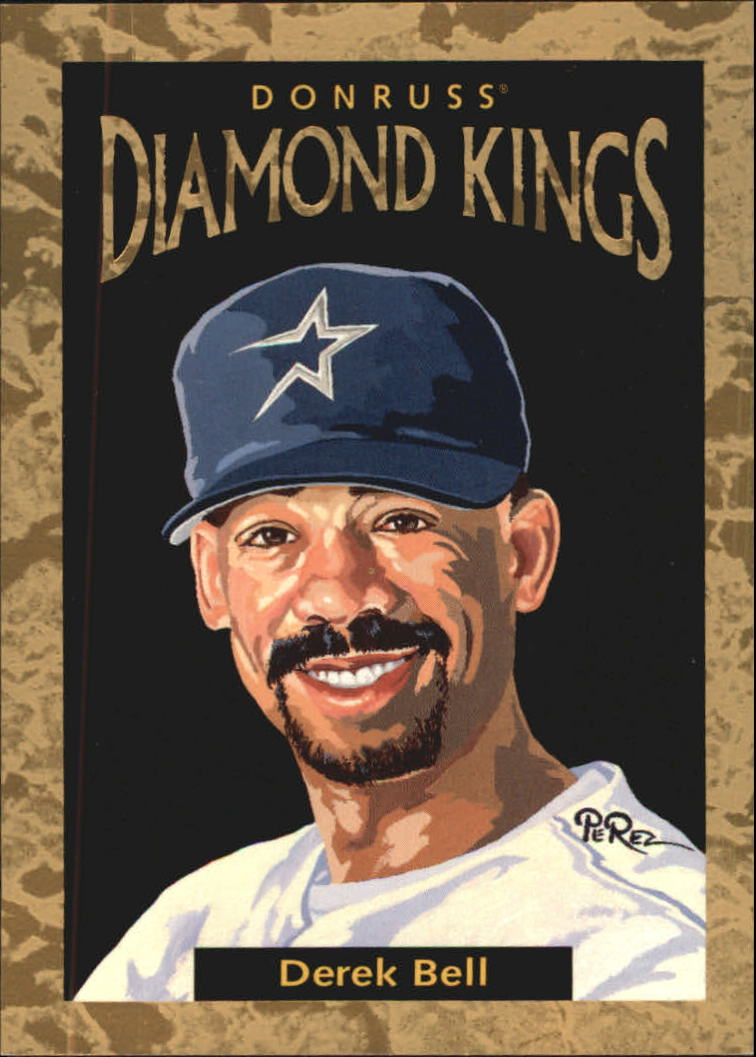 1996 Donruss Diamond Kings #23 Derek Bell