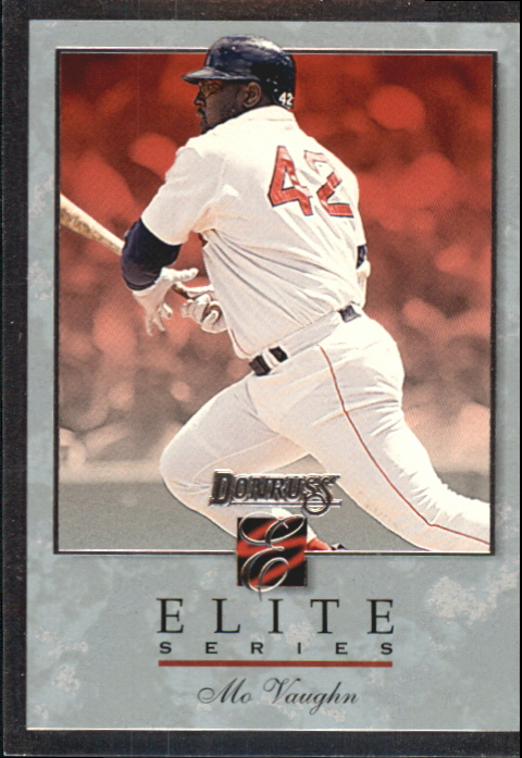 1996 Donruss Elite #64 Mo Vaughn