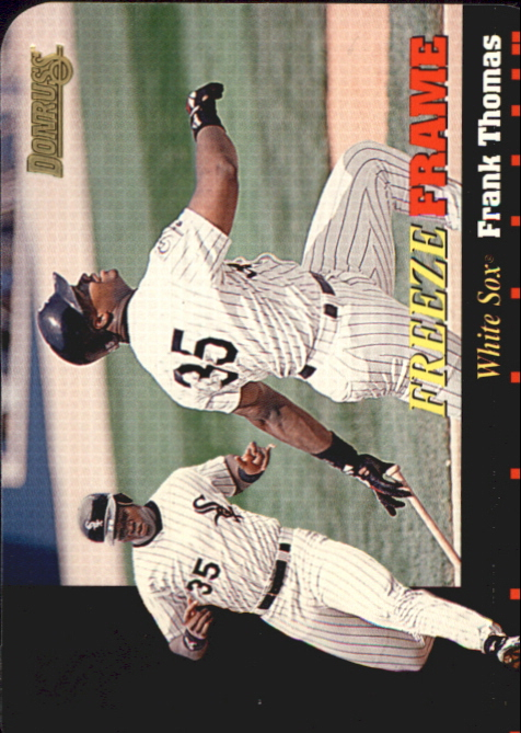 1996 Donruss Freeze Frame #1 Frank Thomas