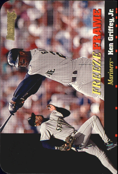 1996 Donruss Freeze Frame #2 Ken Griffey Jr.