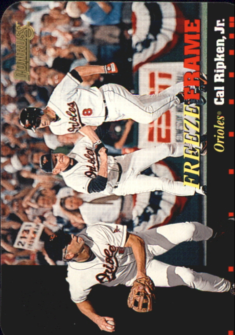 1996 Donruss Freeze Frame #3 Cal Ripken