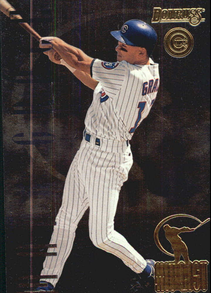 1996 Donruss Hit List #7 Mark Grace